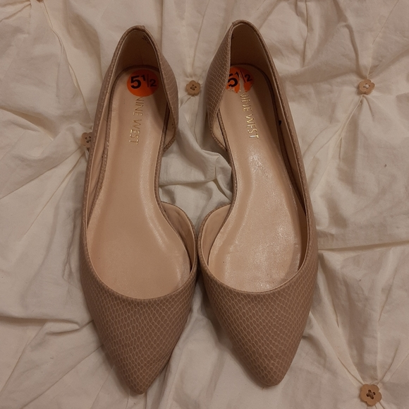 💗2 for $30💗Nine west flat shoes